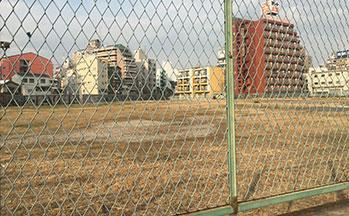 新今宮の星野リゾート建設予定地