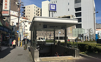 大阪市営地下鉄堺筋線「恵美須町駅」