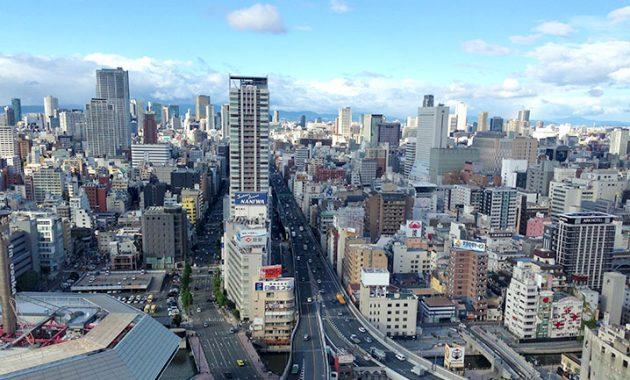 難波・心斎橋の家賃相場が一目でわかる地図・安い地域はここだ!