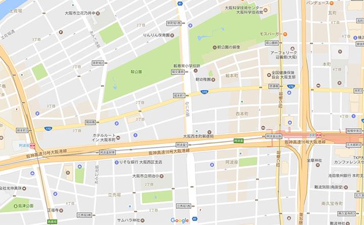 なにわ筋線-西本町駅