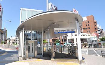 阪神電車桜川駅