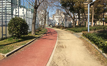 ジョギングコース
