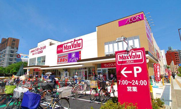 大阪市浪速区でスーパーマーケットが多くて買い物に便利な地域はどこ?