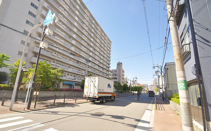 日本橋東の街並み