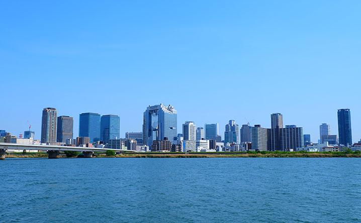 大阪市(環状線内側)の家賃相場が一目でわかる地図・安い地域はここ